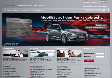 audi bank erfahrungen kredit anbieter im test testberichte. Black Bedroom Furniture Sets. Home Design Ideas