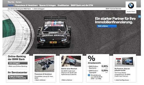 BMW Bank Kredit online