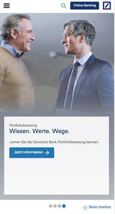 Deutsche Bank Kredit online beantragen