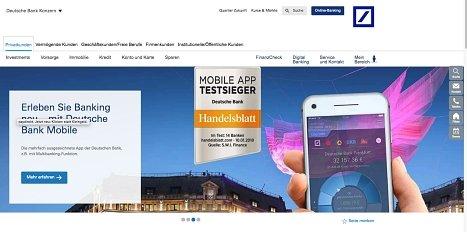 Ratenkredit der Deutschen Bank online beantragen