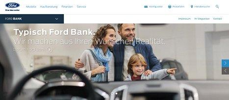 Onlinekredit der Ford Bank beantragen