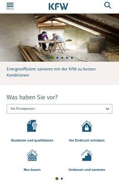 KfW-Bank Kredit beantragen
