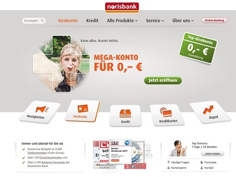 Kreditanfrage norisbank Onlinekredit