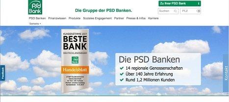 PSD Bank online Kredit beantragen