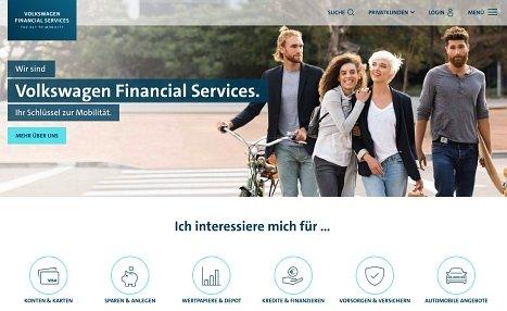 Volkswagen Bank Onlinekredit